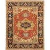 Pasargad Serapi Black/Rust Traditional Persian Rug