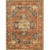 Pasargad Kerman Rust/Navy Traditional Persian Rug