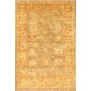 Pasargad Oushak Gold Decorative Turkish Tribal Design Wool Rug
