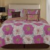 <strong>Palmetto Print Works Retro 7 Piece Comforter Set</strong> by Home Fashions International