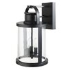 Globe Electric Company 3 Light Outdoor Wall Lantern