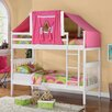 <strong>Donco Kids</strong> Donco Kids Twin Mission Bunk Bed with Tent Kit