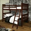 <strong>Donco Kids</strong> Donco Kids Twin Mission Bunk Bed with Tilt Ladder