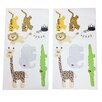 One Grace Place Jazzie Jungle Boy Wall Decal (Set of 2)