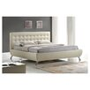 Wholesale Interiors Baxton Studio Elizabeth Pearlized Almond Platform Bed