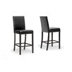 "Wholesale Interiors Baxton Studio Torino Modern 30"" Bar Stool (Set of 2)"