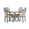 <strong>Wholesale Interiors</strong> Baxton Studio Hear 5 Piece Dining Set