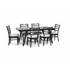 Wholesale Interiors Baxton Studio Coventa 7 Piece Dining Set