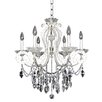 Allegri by Kalco Lighting Titian 6 Light Crystal Chandelier