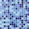 <strong>Giorbello</strong> Tesserae Blends Glass Tile in Ocean Depths Iridescent