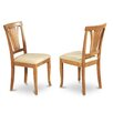 East West Furniture Avon Side Chair (Set of 2)