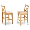 "East West Furniture 24"" Bar Stool (Set of 2)"