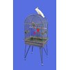 Large Dome Top Bird Cage with Removable Base