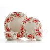 <strong>222 Fifth</strong> Cherry Blossom 16 Piece Dinnerware Set