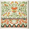 Oliver Gal Ornamental Pattern 1867 Graphic Art on Canvas