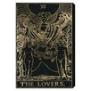 Oliver Gal There Lovers Tarot Graphic Art on Canvas