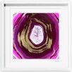 Oliver Gal Pinklove Geo Framed Painting Print