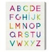 Oliver Gal Modern ABCs by Olivia's Easel Canvas Art