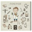"""Oliver Gal """"Doctor - When I Grow Up"""" by Olivia's Easel Canvas Art"""