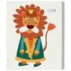 "Oliver Gal ""King Lion"" by Olivia's Easel Canvas Art"