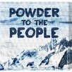 Oliver Gal 'Powder to the People' Graphic Art on Wrapped Canvas