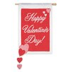 Evergreen Flag & Garden Valentine Spinn Garden Flag