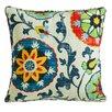 Evergreen Flag & Garden Throw Pillow