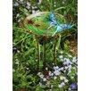 Evergreen Flag & Garden Butterfly Scuplted Bird Bath