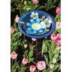 Evergreen Flag & Garden Vintage Floral Medallion Bird Bath