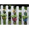 Evergreen Flag & Garden Novelty Hanging Rail Planter (Set of 3)