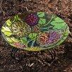 Evergreen Flag & Garden Autumn Posey Birdbath