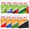 <strong>Book Sox Jumbo Stretchable Fabric Book Covers Assorted Prints/Solid...</strong> by Kimco Products