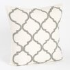 Saro Zsa Zsa Moroccan Design Beaded Throw Pillow