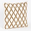 Saro Carmella Beaded Design Pillow