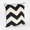 Saro Chilton Chevron Design Pillow