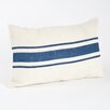 <strong>Les Baux de Provence Striped Design Jute Pillow</strong> by Saro