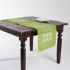 <strong>Leila Embroidered Cutwork Flower Design Runner</strong> by Saro