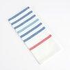 Saro Striped Kitchen Towel or Napkin (Set of 4)