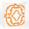 Saro Rue Serret Embroidered Design Throw Pillow