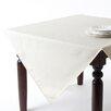 Saro Basket Weave Design Tablecloth