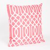 Saro Colette Embroidered Design Pillow