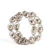Saro Link Design Napkin Rings (Set of 4)