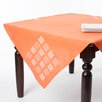 Saro Embroidered Square Table Topper