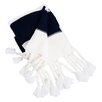 Saro Knitted Throw with Chunky Tassels
