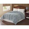 Cedar Creek Bedding Carved Mink Microfiber Comforter