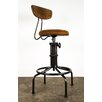 Nuevo Buck Adjustable Height Bar Stool