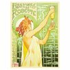 "<strong>Trademark Fine Art</strong> ""Absinthe Robette"" by Privat Livemont Painting Print on Canvas"