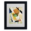 <strong>Lyubov Popova 'Composition 1921' Matted Framed Art</strong> by Trademark Fine Art