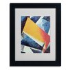 <strong>Trademark Fine Art</strong> Lyubov Popova 'Architectonic Composition' Matted Framed Art