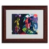 <strong>Franz Marc 'Horse and Eagle 1912' Matted Framed Art</strong> by Trademark Fine Art